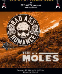 "Livebericht: ""Bad Ass Romance (SWI), The Möles (SWI)"" (Iron Saw Blade.ch)"